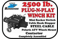 KFI Winch Kit 2500 lb. Plug-N-Play '13-'20 Polaris Scrambler 850 850XP 1000 XP