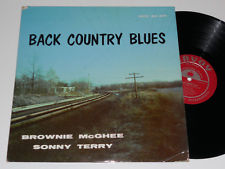 SONNY TERRY BROWNIE MCGHEE BACK COUNTRY BLUES NM- Savoy Mono MG-14019