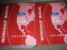 2011 Ford FLEX Service Shop Repair Workshop Manual Set FACTORY OEM
