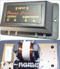 Subwooferweiche 12dB Frequenz Weiche Sub Woofer Lautsprecher Weiche Bass Filter
