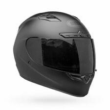 New Bell Qualifer DLX Blackout Matte Black Motorcycle Helmet