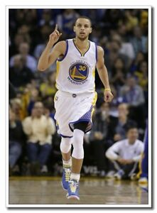 """Great Player Wall Decals New Stephen Curry 24""""x36"""" Sport Silk Poster"""