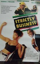"""Strictly Business Original 1991 Single Sided 27""""X40"""" Movie Poster """"Halle Berry"""""""