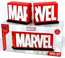 Gentle Giant Studios MARVEL COMICS LOGO Bookends Statue MCU Limited Edition NEW