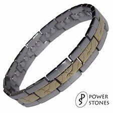 Uomini donne forti terapia magnetica braccialetto Bio Artrite Dolore Sollievo 034S