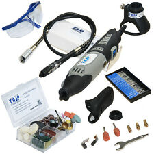 TASP Dremel 170W Electric Rotary Tool Variable Speed Power Mini Drill with 140PC