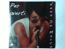 ANNA DE MARCO Per averti cd singolo PR0M0 RARISSIMO