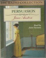 Jane Austen Persuasion 2 Cassette Audio Book Abridged BBC Radio Janet Suzman