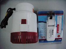 SEAFLO Marine Bilge Water Pump & Float Switch 3500Gph 12v 4 Year Warranty Rules!