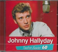 JOHNNY HALLYDAY ALBUM 1 CD *TENDRES ANNEES 60* 20 TITRES VOL2 NEUF SOUS BLISTER