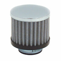 """Spectre 42879 White Valve Cover Breather Vent Filter Fits 1/"""" to 1-1//4/"""" Push In"""