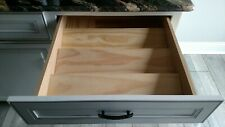 "Custom Spice Rack Drawer (New) Insert Organizer - Custom Size up to 24"" wide"