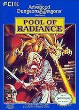 Advanced Dungeons & Dragons: Pool of Radiance w/cosmetic flaws Nintendo GAME NES
