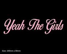 Yeah The Girls YTG Vinyl Sticker Decal Stussy Chick Princess Gucci LV Queen Cute