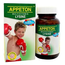 APPETON MULTIVITAMIN LYSINE 60 CHEWABLES (INCREASE CHILD APPETITE)