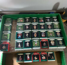 Lot Of 33 Hallmark Miniature Ornaments