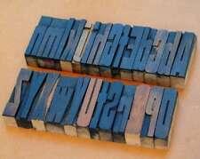 A-Z Mix Holzbuchstaben Plakatlettern Buchstaben 72 mm wood type Alphabet vintage