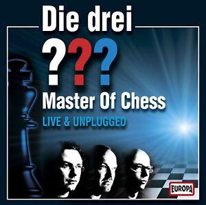 2 CDs * DIE DREI ??? (FRAGEZEICHEN) - LIVE - MASTER OF CHESS # NEU OVP =