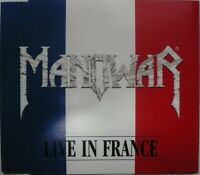 CD EP MANOWAR Live in France 1999 Rock Heavy Metal Epic IMMORTALS Nuclear Blast