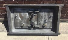 Antique Large Industrial Foundry Mold Casting E. W. Stove Company Cleveland OH