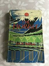 The Hobbit 1975 Unwin Paperback Illustrated Cover Tolkien RARE