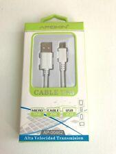 2Mt CABLE MICRO USB CARGA RAPIDA PARA SAMSUNG GALAXY ANDRIOD  S5 S6 J5 J7
