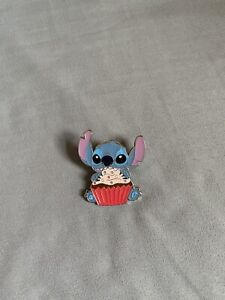 Loungefly Disney Meal Time With Stitch Blind Box Enamel Pin- Cupcake