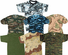 Camouflage Loose Fit Singlepack T-Shirts for Men