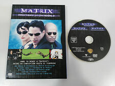 THE MATRIX DESCUBRE LO INCREIBLE DVD + EXTRAS KEANU REEVES ENGLISH