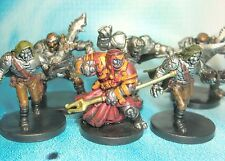 Dungeons & Dragons Miniatures Lot  Warforged Fighter Warforged Wizard !!  s112