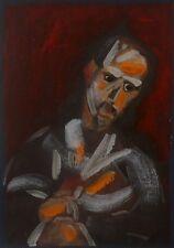 ERVIN NEUHAUS (1928-2012)-Composition abstraite-Petit format-Abstraction-HST