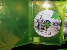 Assassin's Creed III XBOX 360 NO FRONT COVER EUC