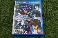 Used PS Vita Mobile Suit Gundam Seed Battle Destiny PSV  From Japan