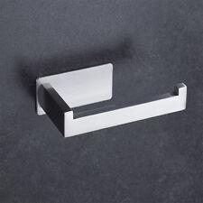Self Adhesive Stainless Steel Tissue Bathroom Toilet Paper Organizer Rack Holder