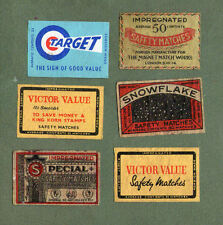 VERY OLD Belgium match box labels Belgian matchbox #859