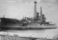 """US Navy USS Delaware World War 1 6x4"""", Reprint Photo a"""