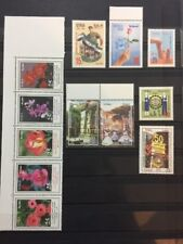 Syria 2007 2010 Mnh Stamp Sets Flowers Festivals Mothers Day Independence