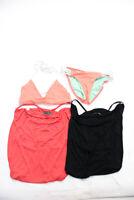 Cia Maritima L Space Womens Bikini Mini Dress Pink Black Size Petite XS Lot 3