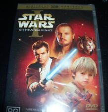 Star Wars The Phantom Menace Episode I - 1 (Australia Region 4) 2 DVD - New