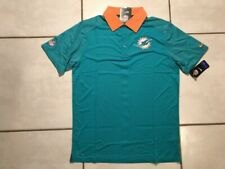 Nike Dri-fit Miami Dolphins NFL on Field Polo Shirt Men's Small