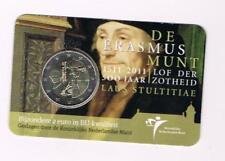 NEDERLAND 2011 2 EURO COINCARD ERASMUS
