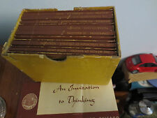 1949 GREAT BOOKS FOUNDATION 13 BOOKS 1ST YEAR