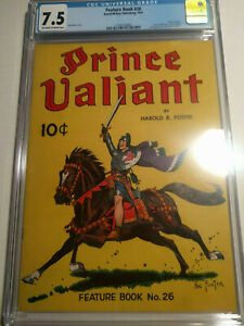Prince Valiant Feature Book 26 CGC 7.5