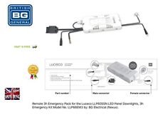 Remote 3h Emergency Pack for the Luceco LLP60SSN LED Panel Downlights