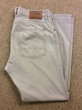 Mens CAMEL ACTIVE W34 L30 Hudson Beige Stretch Denim Lightweight Jeans