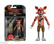 """New Authentic Five Nights At Freddy's Foxy 5"""" Figure IN STOCK BAF Spring Trap"""