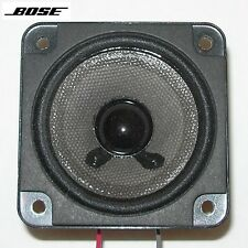 """BOSE 2¾"""" full-range driver for double cube speakers incl. Redline—excellent cond"""