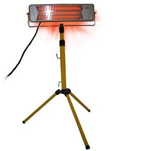 Infrarot Strahler Lacktrockner IR Heizstrahler Smart Spot Repair 1200 Watt NEU