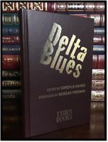 Delta Blues ✎SIGNED✎ by 20 AUTHORS & MORGAN FREEMAN New Leather Limited 1/100