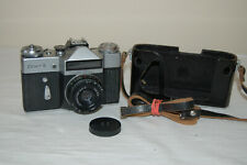 Zenit-E Vintage 1974 Soviet SLR Camera & Industar-50-2 Lens. 74376228. UK Sale